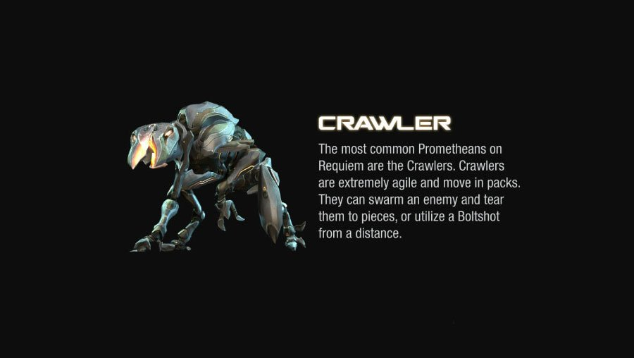 crawler halo 4 Halo 4 Helmets, Enemies and Weapons Explained