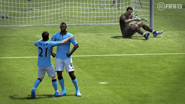 Game Critics prefer FIFA Soccer 13 to Pro Evoution News PlayStation Xbox  FIFA 13 EA