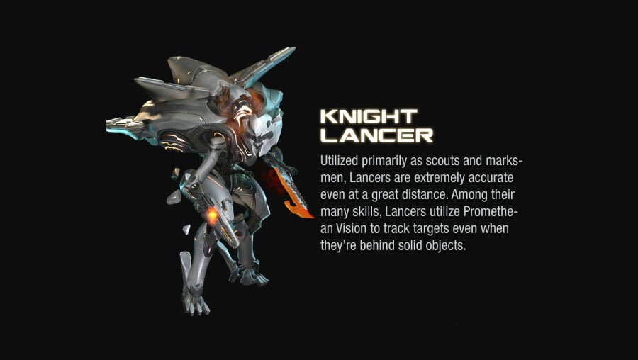knight lancer halo 4 Halo 4 Helmets, Enemies and Weapons Explained