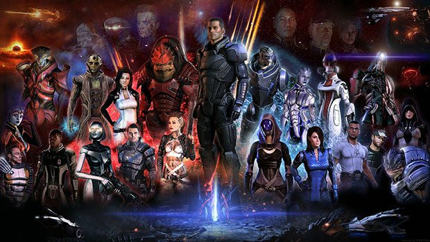 Original Mass Effect finally heading to PS3 News PlayStation  Mass Effect 3