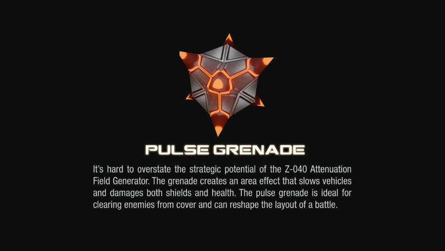 pulse grenade halo4 Halo 4 Helmets, Enemies and Weapons Explained