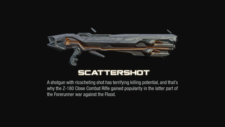 scattershot halo 4 Halo 4 Helmets, Enemies and Weapons Explained