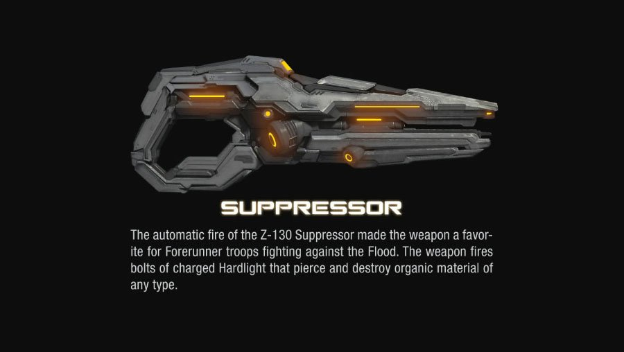 suppressor halo 4 Halo 4 Helmets, Enemies and Weapons Explained