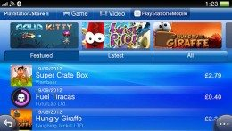 PlayStation Mobile heads to PS Vita