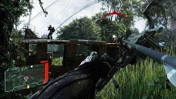 Six minutes of Crysis 3 Train Yard gameplay