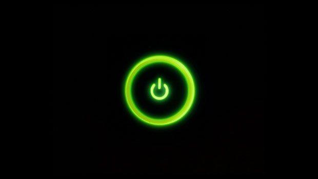 xbox 720 power button