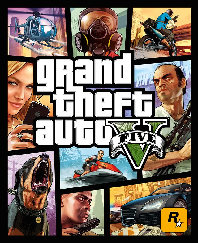 GTA V Box Art