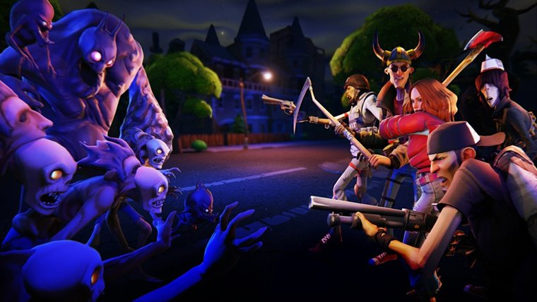 Epic's Fortnite sees first unfiltered gameplay