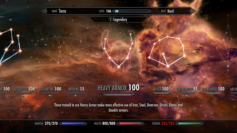 Skyrim goes Legendary with update 1.9 News  Skyrim