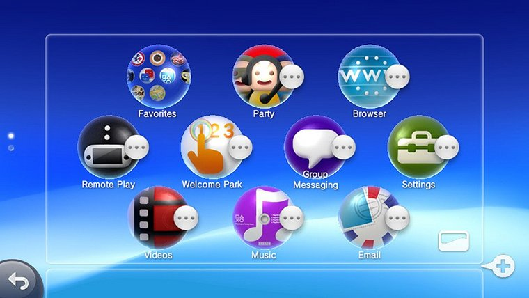 how to update application on ps vita