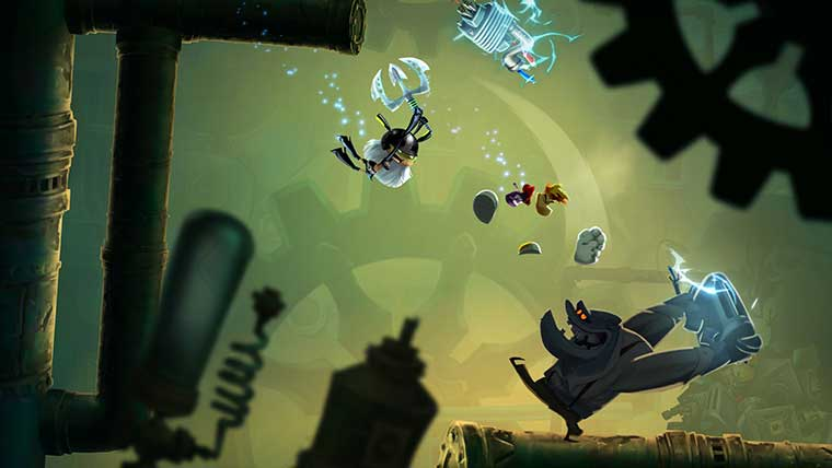 Rayman Legends 20 000 Lums Under The Sea Attack Of The