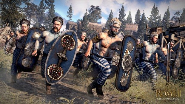 Total War Rome 2 Painted Warriors