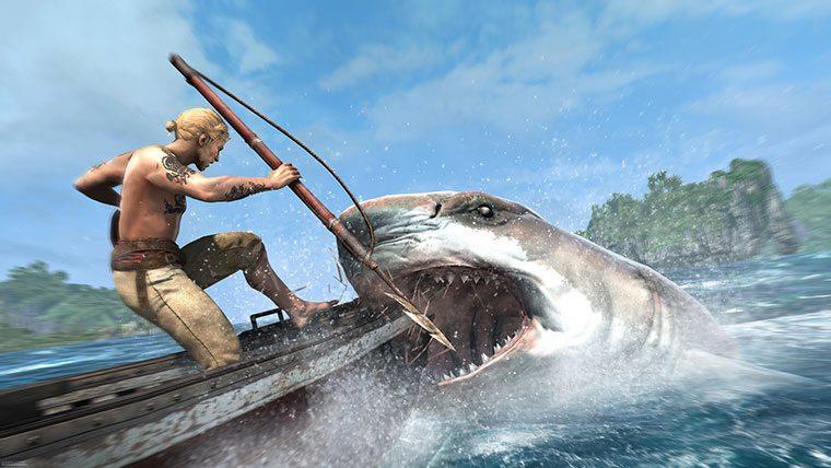assassins-creed-4-black-flag-shark-attack