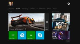 Microsoft offers a demo of the Xbox One interface