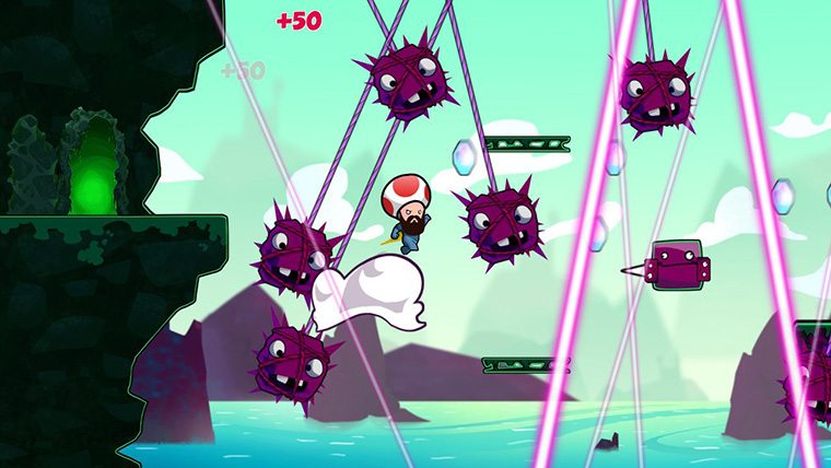 Cloudberry Kingdom Review - Attack of the Fanboy