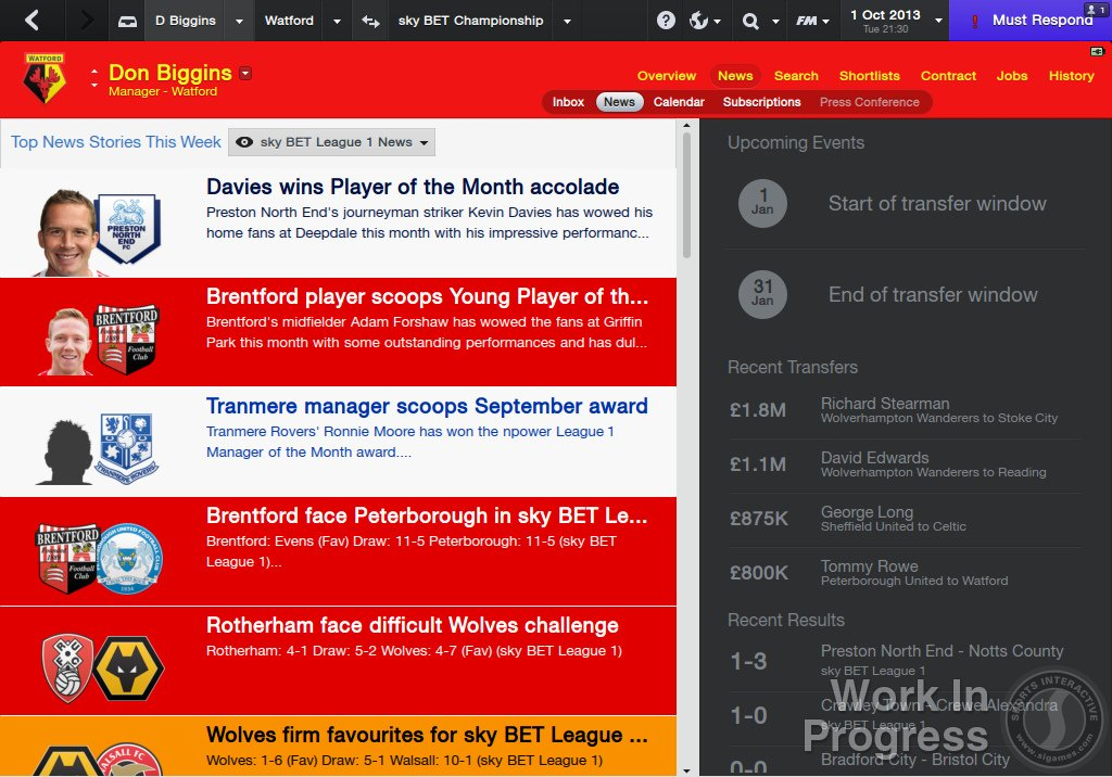 Football Manager 2014 - What You Need To Know News PC Gaming  Sega football manager