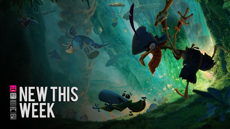 New This Week in Video Games: Rome, Rayman, and the Return of Diablo