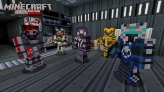 Minecraft's Mass Effect DLC Dated