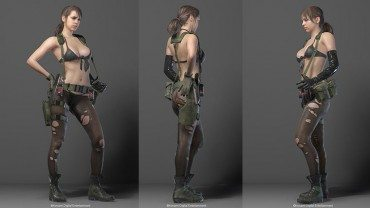 Here's that sexy new Metal Gear Solid V character
