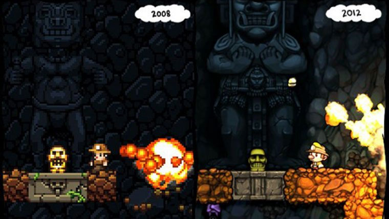Spelunky Review Reviews  Spelunky