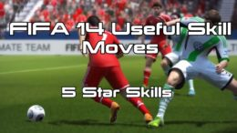 FIFA 14 Useful Skill Moves – 5 Star Skills
