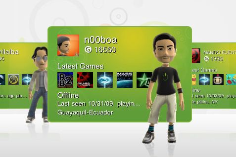 how to change your gamertag picture on xbox 360