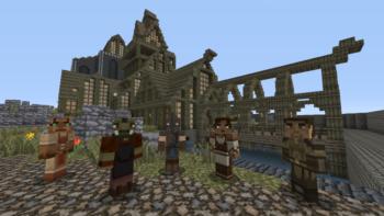 Minecraft 360 Skyrim Mash Up Pack Trailer & Release Date