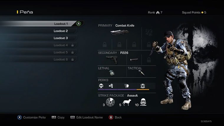 Call of Duty Ghost Character in Call of Duty Ghosts