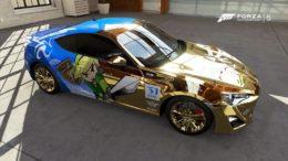 Forza 5 – Legend of Zelda: Wind Waker Car