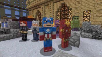 Minecraft Marvel 4