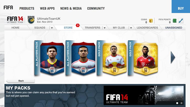 FUT-14-Web-App-Store-My-Packs-FIFA-14-Ultimate-Team