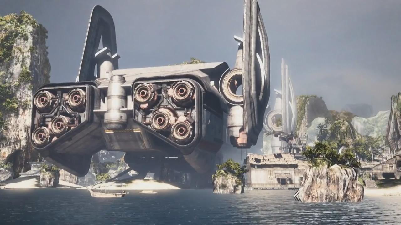 Titanfall-Ship