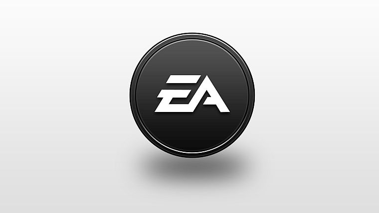 EA Logo White