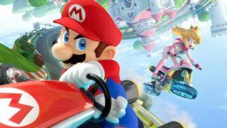 Real Life Mario Kart Mob take over Mall