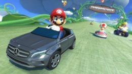 Mario Kart 8 Mercedes-Benz