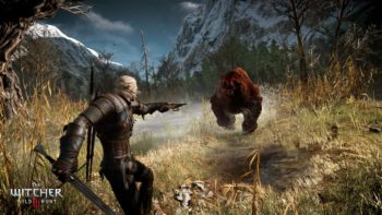 Geralt is the Traveling Monster Hunter in The Witcher 3
