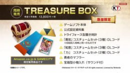 Hyrule Warriors Treasure Box Edition
