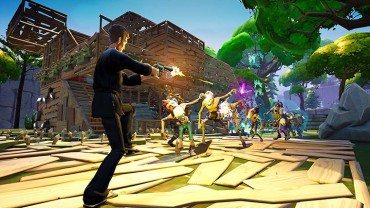 Epic Games' Minecraft Co-op Survival Game Fortnite pops its head up