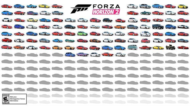 forza-horizon-2-car-list