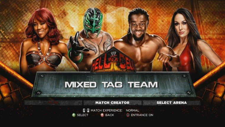 Intergender Matches Still Not Possible In WWE 2K15