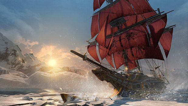 Assassins_Creed_Rogue_Icesheet-breaking-sunset
