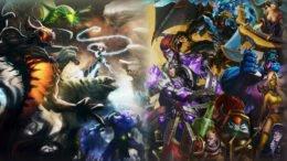 DOTA 2 League of Legends Defence of the Legends