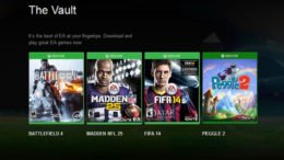 EA Access Vault Games