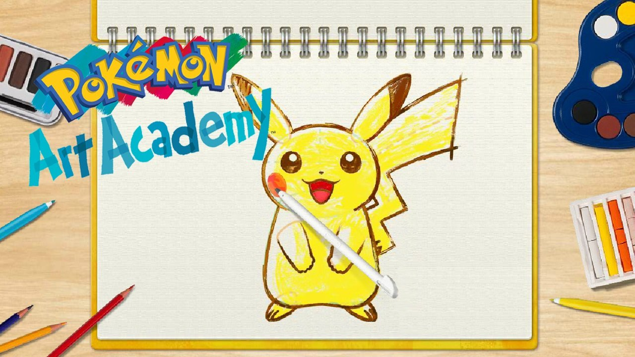 how to draw a pokemon game card for 3ds