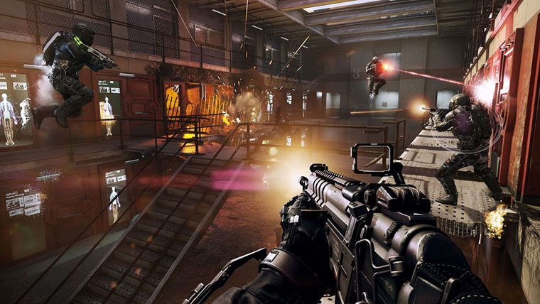 call of duty advanced warfare 1080p 60fps multiplayer servers