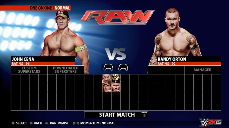 WWE 2K15 Character Selection Screen Suggests Roster To Have 92 Wrestlers News  WWE 2K15
