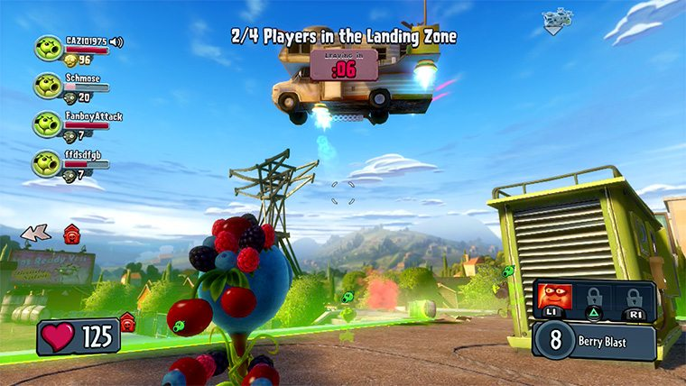 Plants Vs Zombies Garden Warfare Ps4 Review