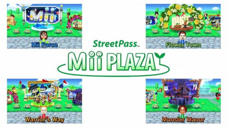 3DS Streetpass Games