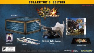Monster Hunter 4 Collector's Edition Announced For North America