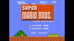 Super Mario Bros NES